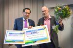 Nico Nijkamp gehuldigd met Verkeersveiligheidsprijs Flevoland 2017